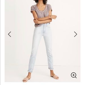 Madewell The Perfect Vintage Jean Fitzgerald Wash